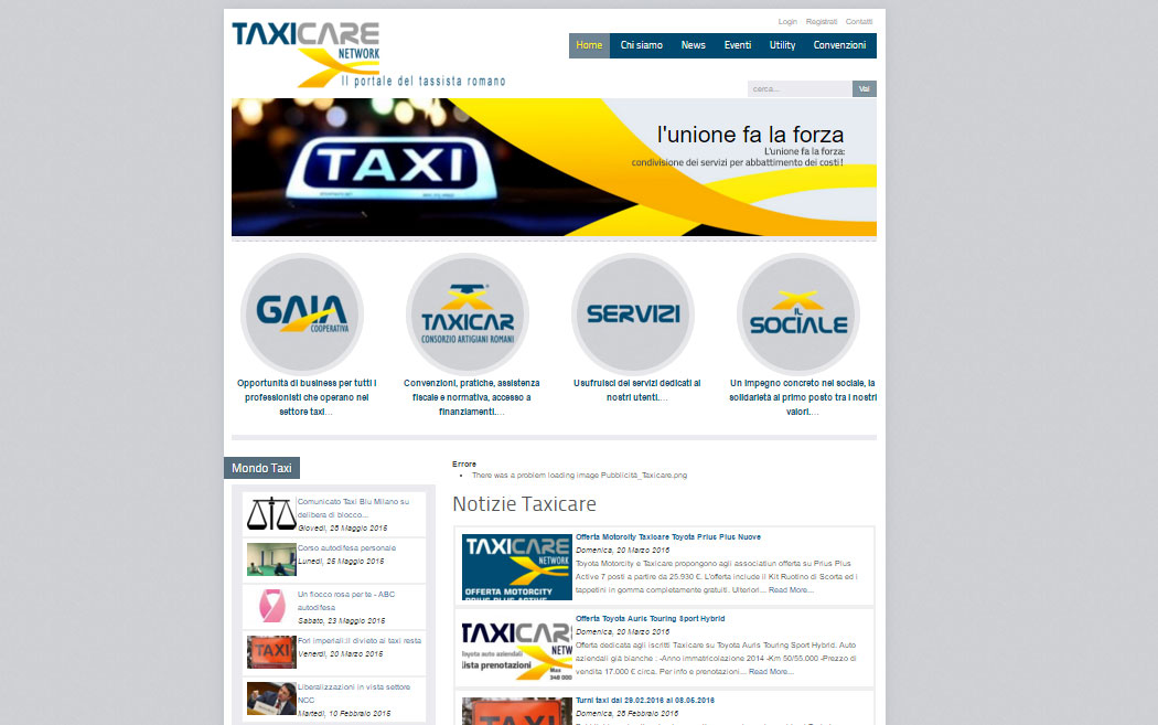 GP Design - Taxi Care